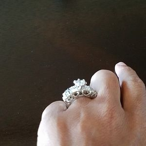 Accessories - Silver wedding ring set